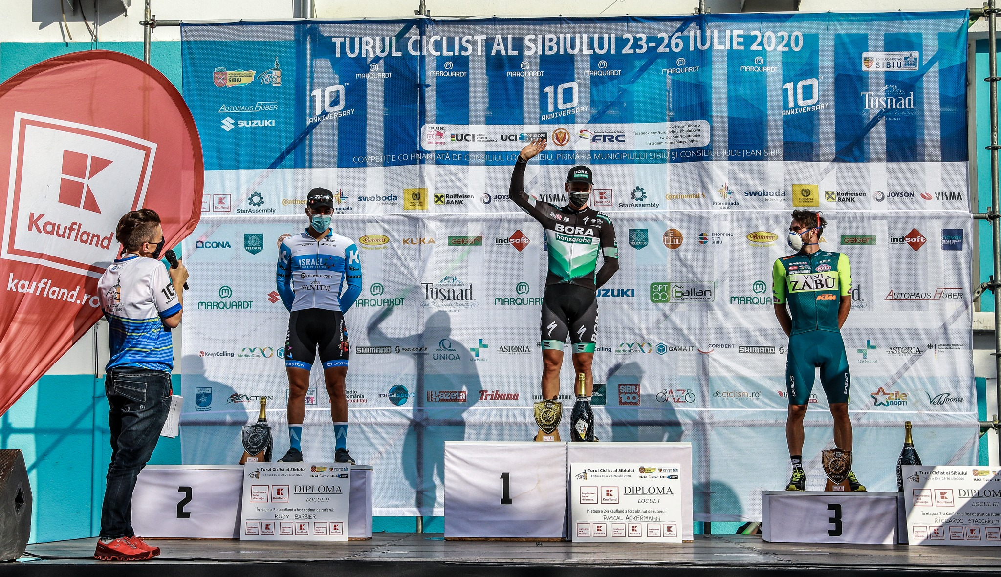 SIBIU CYCLING TOUR: RICCARDO STACCHIOTTI ACHIEVES THE FIRST PODIUM OF 2020