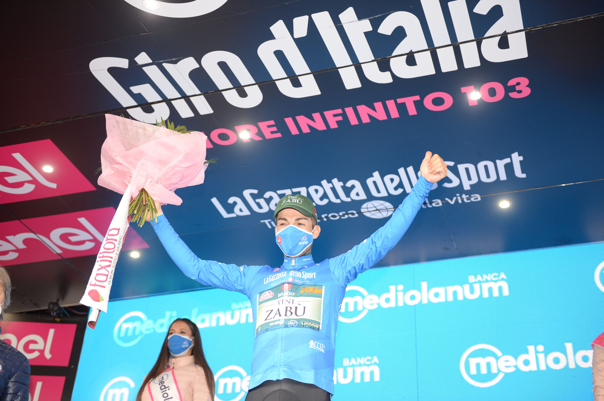 GIRO D'ITALIA: GIOVANNI VISCONTI IS THE NEW KING OF THE MOUNTAIN